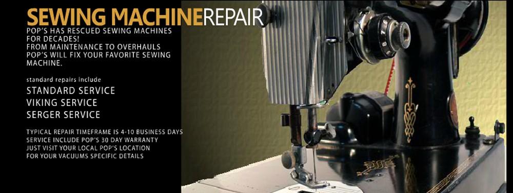 POPS ONE STOP REPAIR SHOP HOME Simple Local Sewing Machine Repair